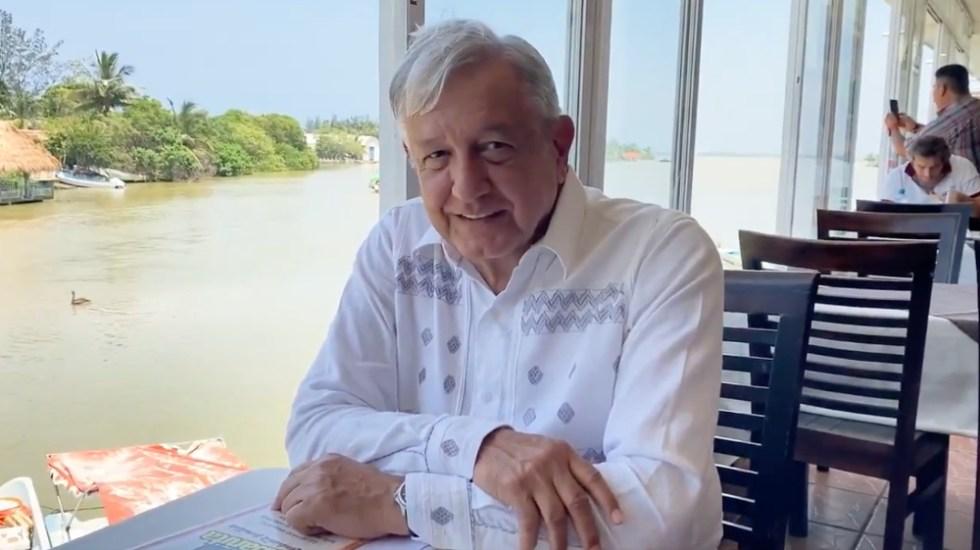 Asegura el presidente López Obrador que respeta 'la veda electoral' - AMLO Lopez Obrador captura