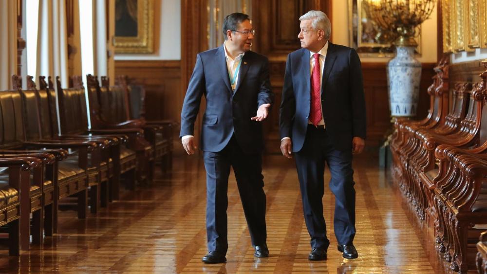 AMLO López Obrador Luis Arce Bolivia