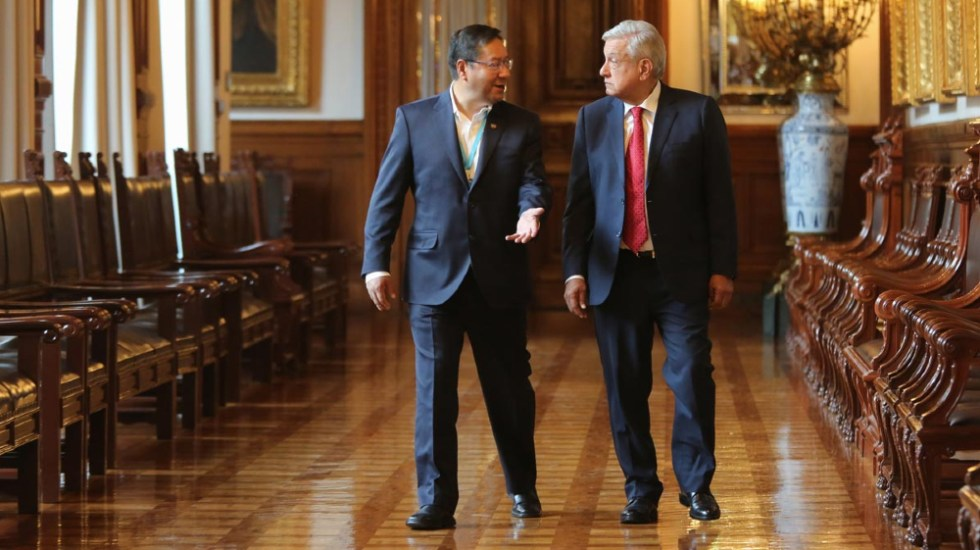 México recibe consejo de Bolivia sobre la política de explotación del litio - AMLO López Obrador Luis Arce Bolivia