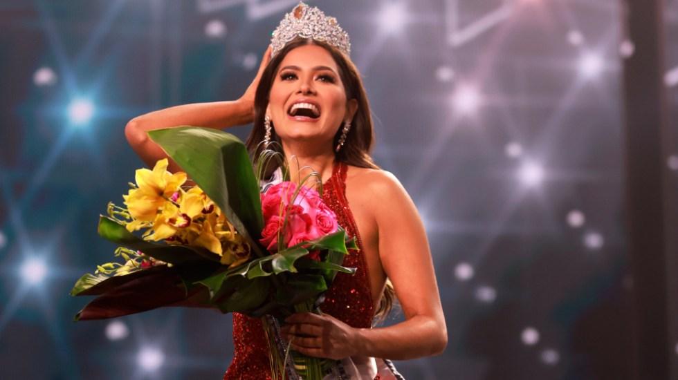 AMLO felicita a Andrea Meza por lograr título de Miss Universo 2021 - Andrea Meza