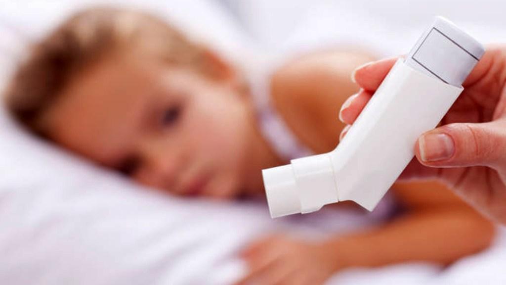 Menos de 10 por ciento de mexicanos que padecen asma están bien controlados - Asma en niños. Foto de UNAM