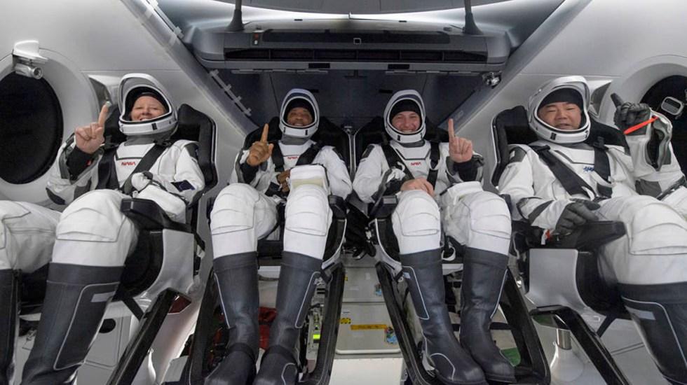 Concluye la Crew-1, primera misión tripulada de la NASA y SpaceX - Astronautas que regresaron a la Tierra tras completar la misión Crew-1. Foto de NASA