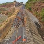 Colapsa tramo de la Autopista Siglo XXI en Michoacán
