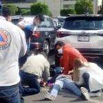 Balacera en inmediaciones de Centro Comercial Santa Fe; hay un lesionado