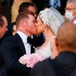 'Canelo' Álvarez se casa por la iglesia en Guadalajara