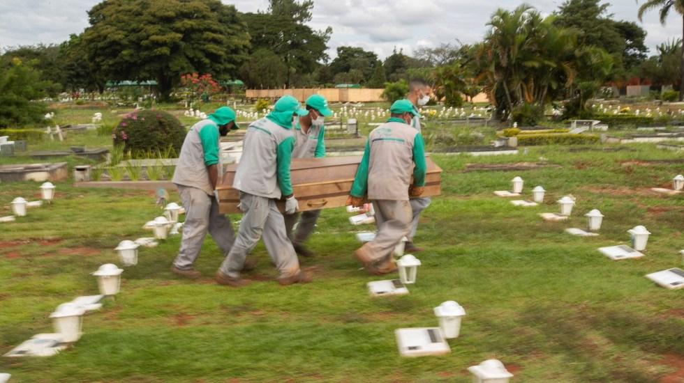 Brasil registra 983 muertes por COVID-19 en medio de la desescalada - Brasil COVID-19 coronavirus pandemia epidemia