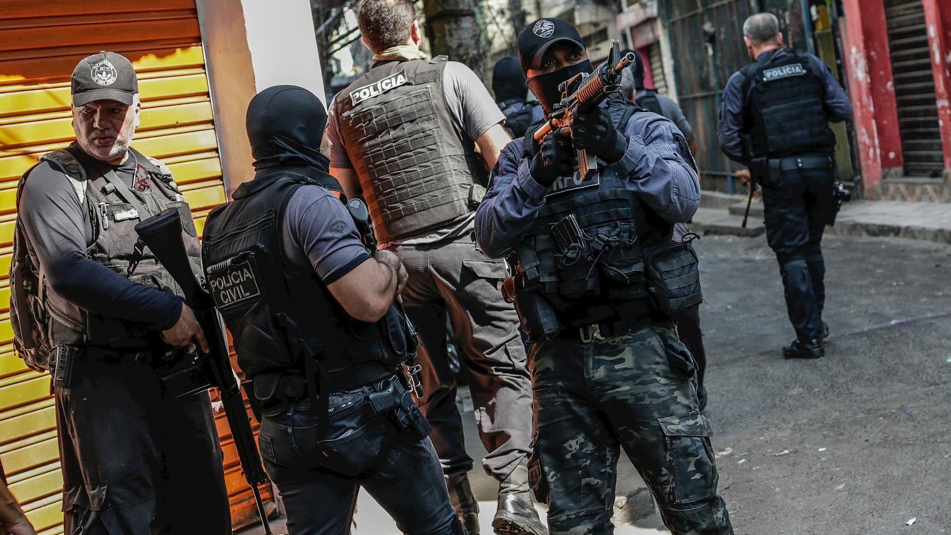 Brasil operativo masacre policías
