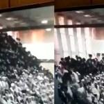 #Video Colapsan gradas de sinagoga en Cisjordania; hay 2 muertos