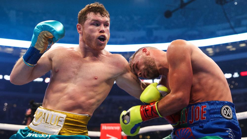 Un impresionante 'Canelo' Álvarez no tuvo rival en Texas - Canelo Alvarez Saunders