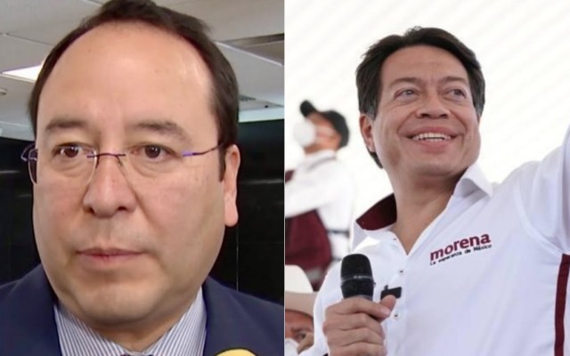 Chocan Ciro Murayama y Mario Delgado por uso de tarjetas en campaña - Ciro Murayama INE Mario Delgado