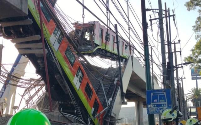 Justin Trudeau envía pésame a México por colapso del Metro - Colapso en Línea 12 del Metro CDMX. Foto de @SGIRPC_CDMX