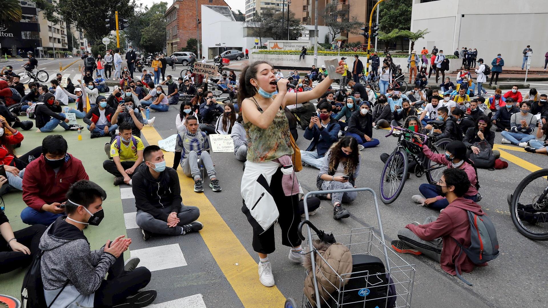 Colombia protestas represión