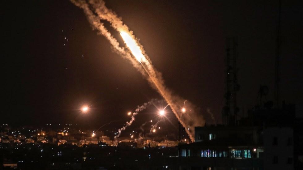 Se han disparado al menos 2 mil 300 cohetes desde Gaza contra Israel - Se han disparado al menos 2 mil 300 cohetes desde Gaza contra Israel. Foto de EFE