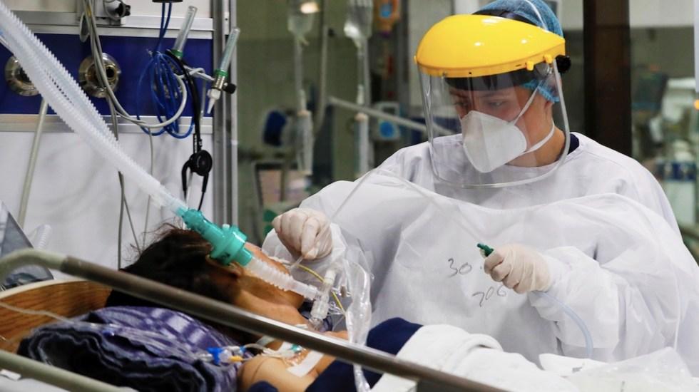 Cruz Roja alerta por posible colapso sanitario en Latinoamérica debido a COVID-19 - Cruz Roja alerta por posible colapso sanitario en Latinoamérica debido a COVID-19. Foto de EFE