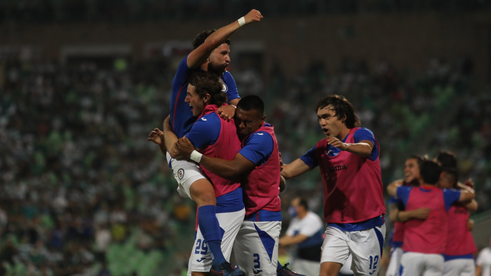 Cruz Azul final ida Santos