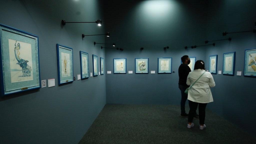 'Dalí 2.1', una mirada profunda al genio del surrealismo - 'Dalí 2.1', una mirada profunda al genio del surrealismo. Foto de EFE