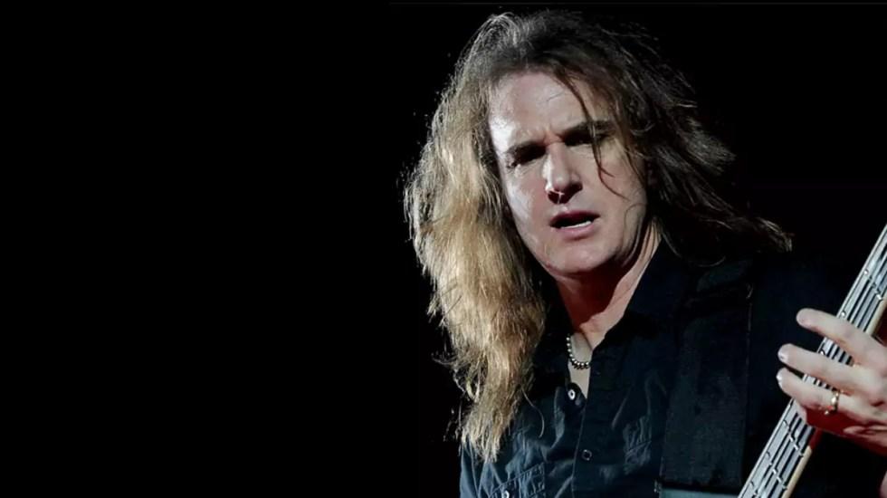 Megadeth despide a su bajista por mensajes de índole sexual con presunta menor - David Ellefson