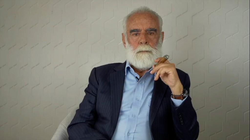 Diego Fernández de Cevallos. Captura de Pantalla (@DiegoFC)