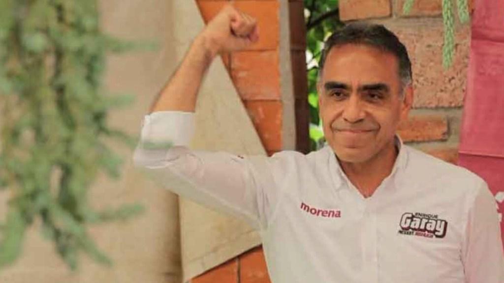 Comunicado de Enrique Garay, candidato de Morena, PT y Nueva Alianza a la Presidencia Municipal de Huixquilucan - Enrique Garay. Foto de @quiquegaray
