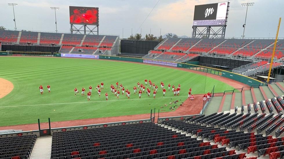Diablos Rojos del México volverán a jugar con público en el Estadio Harp Helú - Estadio Harp Helú. Foto de @HarpEstadio