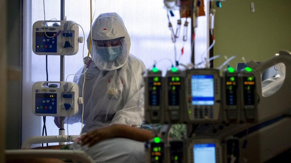 Estados Unidos suma 596 mil 391 muertes por COVID-19 - Estados Unidos COVID-19 hospital pandemia epidemia