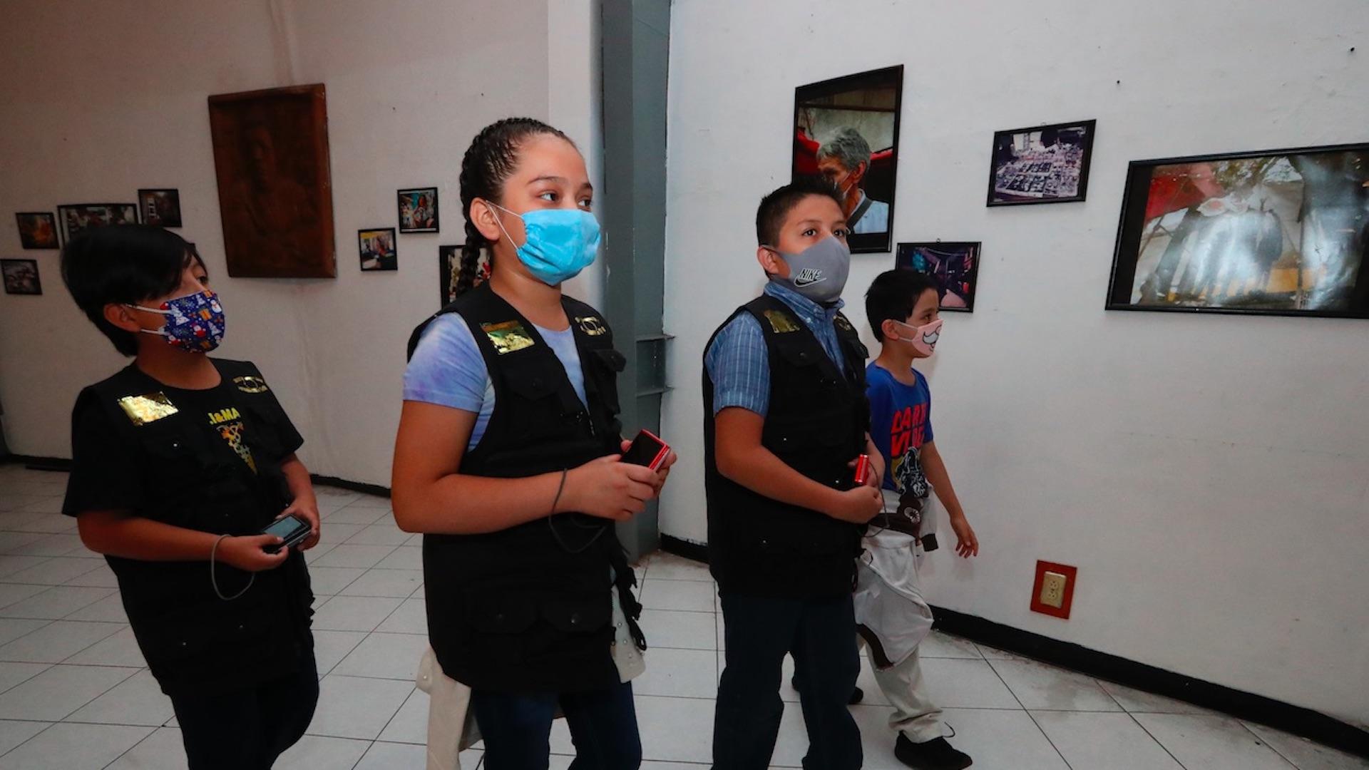Niños retratan cómo es vivir en el barrio bravo de Tepito. Foto de EFE