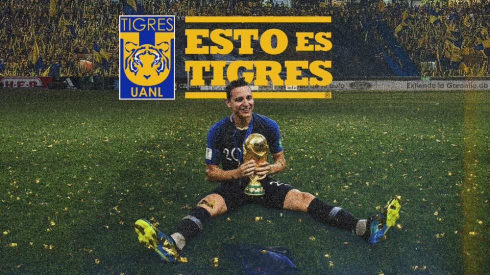Tigres anuncia al francés Florian Thauvin como nuevo refuerzo - Florian Thauvin Tigres