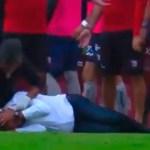 Agreden a Francisco Ramírez durante la final de la Liga Expansión MX