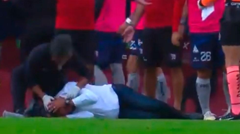 Agreden a Francisco Ramírez durante la final de la Liga Expansión MX - Francisco Ramírez Tepatitlán