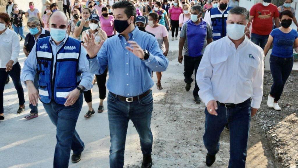 Reaparece gobernador García Cabeza de Vaca; recorre Ciudad Victoria en gira - Gobernador Francisco García Cabeza de Vaca Tamaulipas