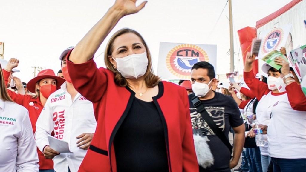 Graciela Ortiz del PRI se suma a campaña de Maru Campos del PAN en Chihuahua - Graciela Ortiz del PRI se suma a campaña de Maru Campos del PAN en Chihuahua. Foto de Twitter Graciela Ortiz