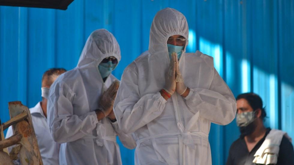 India registra menos de 3 mil muertes de COVID-19 por primera vez en un mes - India coronavirus covid19