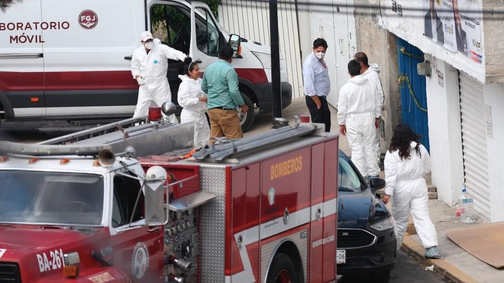 Continúan investigaciones en casa del presunto feminicida de Atizapán - Continúan investigaciones en el domicilio del presunto feminicida serial de Atizapán. Foto de EFE