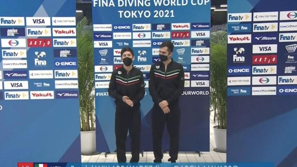 México obtiene boleto a Tokio en clavados sincronizados varonil - México obtiene boleto a Tokio en clavados sincronizados varonil. Foto de Conade