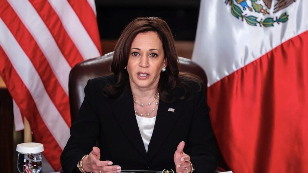 México prepara acciones para visita de Kamala Harris, confirma Cancillería - Kamala Harris.Foto de EFE