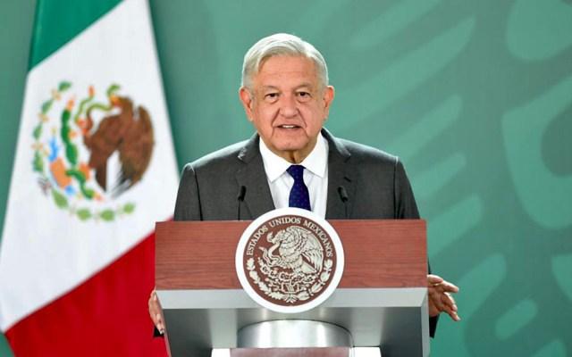 Muñoz Ledo e Ifigenia Martínez llaman al Gobierno Federal a respetar al Poder Judicial y organismos autónomos - López Obrador en conferencia matutina. Foto de Gobierno de México