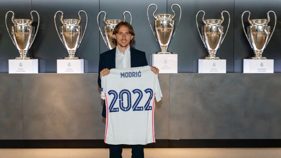 Luka Modric renueva con el Real Madrid hasta el 2022 - Luka Modric Real Madrid