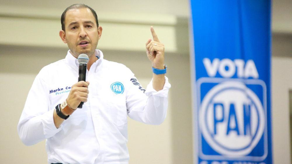 PAN pide que a Ebrard y a Sheinbaum les sea retirado el fuero tras derrumbe en Línea 12 - Marko Cortes PAN