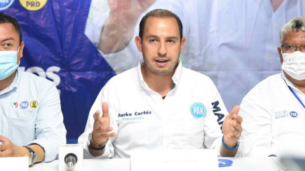 Marko Cortés denuncia persecución política por parte de Morena - Marko Cortés denuncia persecución política por parte de Morena. Foto de Twitter @MarkoCortes