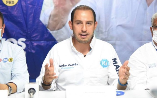 Marko Cortés da positivo a COVID-19; presenta síntomas leves - Marko Cortés denuncia persecución política por parte de Morena. Foto de Twitter @MarkoCortes
