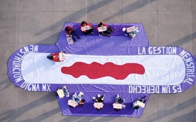 Mexicanas piden gratuidad en productos menstruales y más educación - Mexicanas piden gratuidad en productos menstruales y más educación. Foto de Menstruación Digna MX