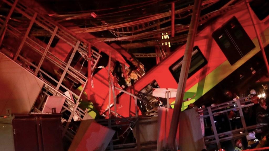 Al menos 15 muertos por desplome de trabe en la Línea 12 del Metro. Foto de EFE