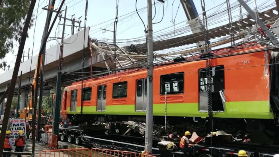 Sólo han sido identificadas 10 víctimas mortales del accidente de la Línea 12 del Metro - Foto de @SGIRPC_CDMX