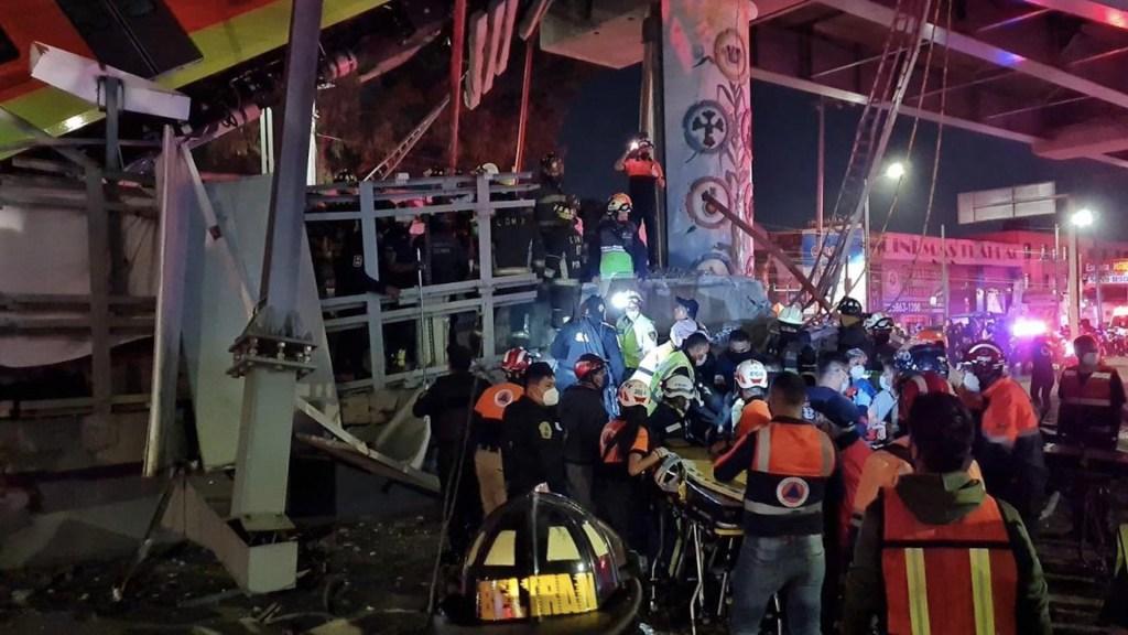 Metro de la Ciudad de México suma 3 accidentes graves entre 2020 y 2021 - Foto de @CNPC_MX