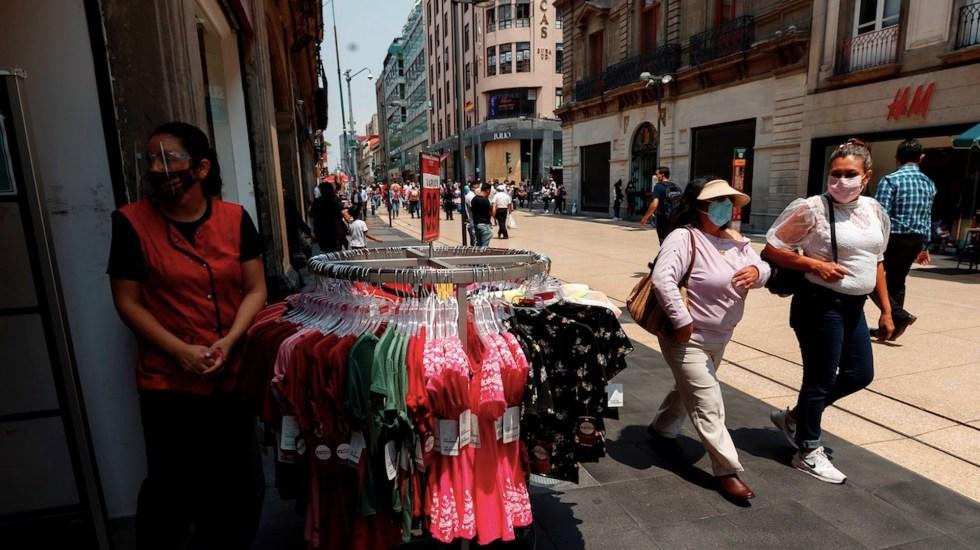 México registró en las últimas 24 horas mil 897 casos y 234 muertes por COVID-19 - Casos de COVID-19 en México. Foto de EFE