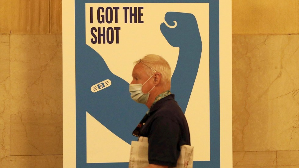 Nueva York extiende programa piloto de vacunación en el Metro - Nueva York vacuna COVID-19 coronavirus pandemia epidemia