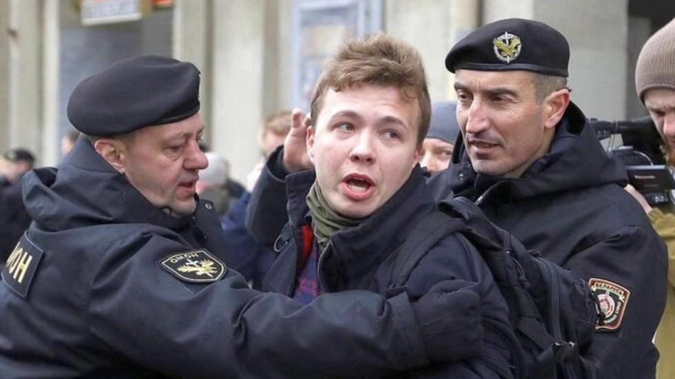 Localizan a periodista detenido por Bielorrusia tras desvió de avión - Minsk confirma paradero de Protasevich, pero niega empeoramiento de su salud. Foto de EBU