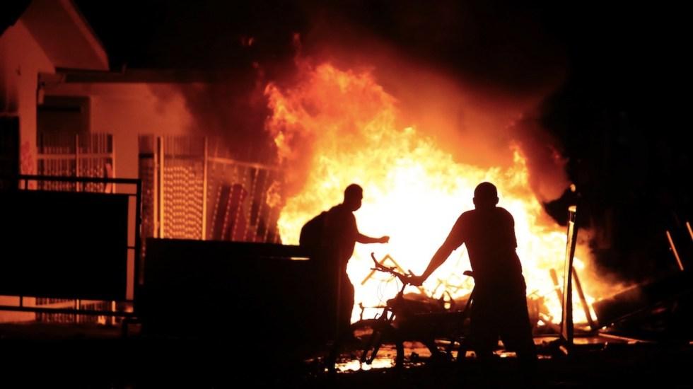 Protestas en Popayán, Colombia, dejan un muerto y 40 heridos - Protestas en Popayán, Colombia, dejan un muerto y 40 heridos. Foto de EFE