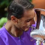 """Quería mucho este décimo título en Roma"": Rafa Nadal"