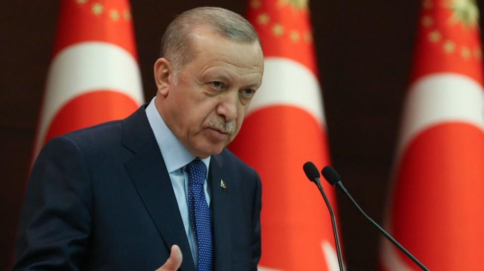 """Erdogan acusa a Biden de tener """"sangre en las manos"""" por apoyar a Israel - Recep Tayyip Erdogan"""